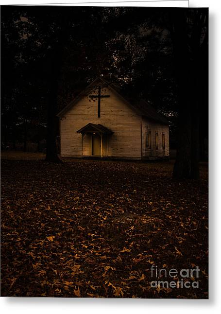 Holy Ghost Church Greeting Cards - That Old Time Religion Greeting Card by Robert Frederick