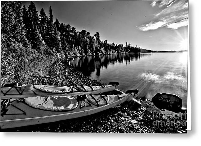 Superior Sunrise Greeting Cards - Old Time Sunrise Greeting Card by Adam Jewell