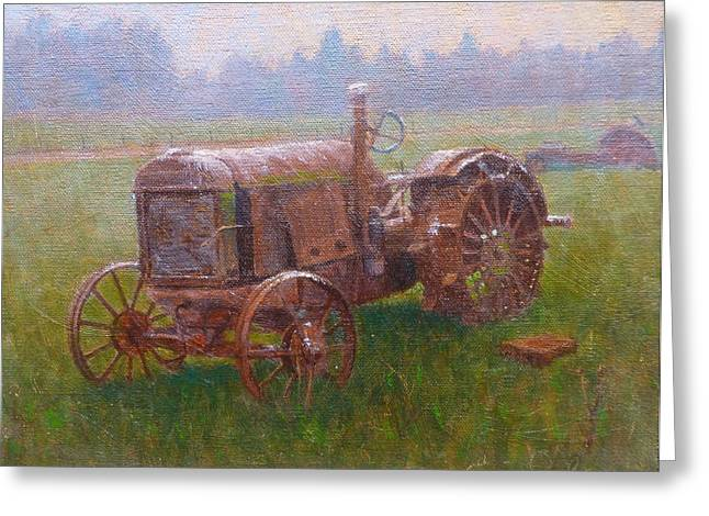 Old Timer Canterbury Greeting Card by Terry Perham