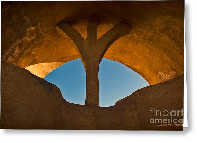 Old Town Archway No. 1 Greeting Card by David Gordon