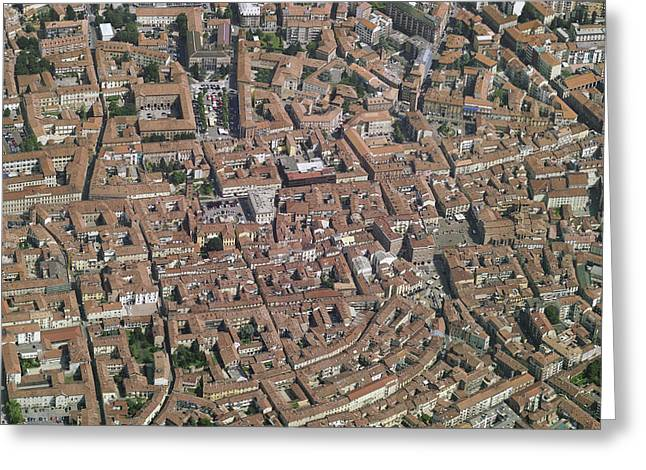 Old Town, Asti Greeting Card by Blom ASA