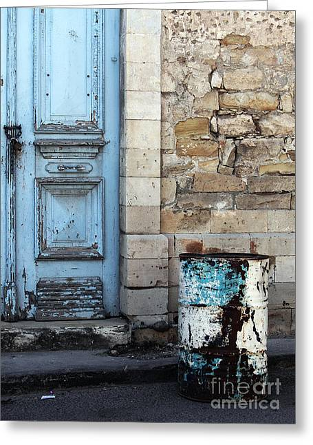 Limassol Greeting Cards - Old Town Limassol Greeting Card by John Rizzuto