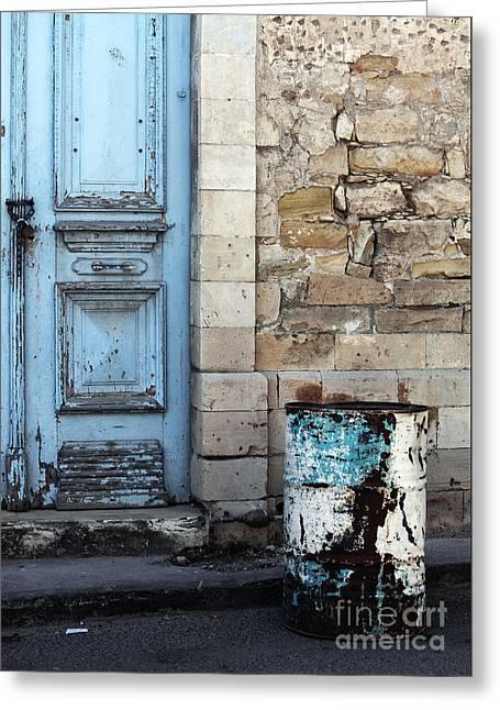 Cypriotic Greeting Cards - Old Town Limassol Greeting Card by John Rizzuto