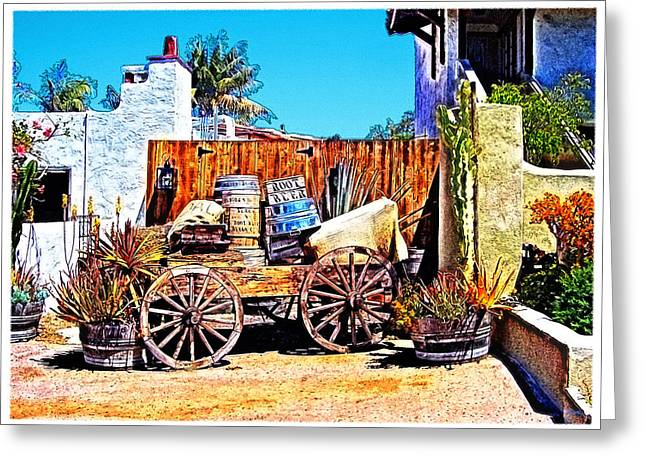 Old Town San Diego Greeting Card by Glenn McCarthy Art and Photography