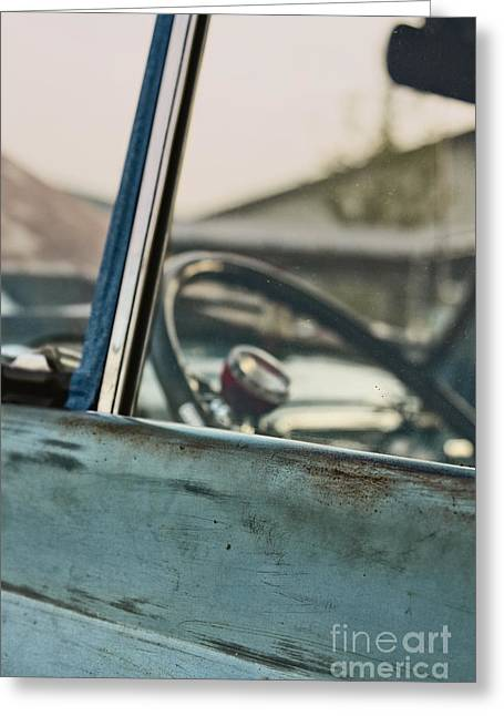 Old Relics Greeting Cards - Old Truck Greeting Card by Margie Hurwich