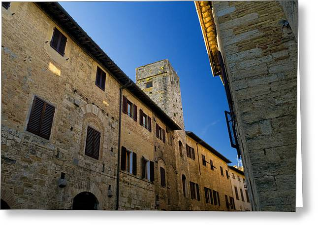 Tuscan Traditions Greeting Cards - Old Tuscany Greeting Card by Mick House