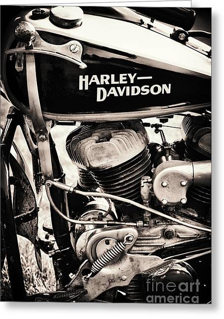 Old Vintage Hd Greeting Card by Tim Gainey