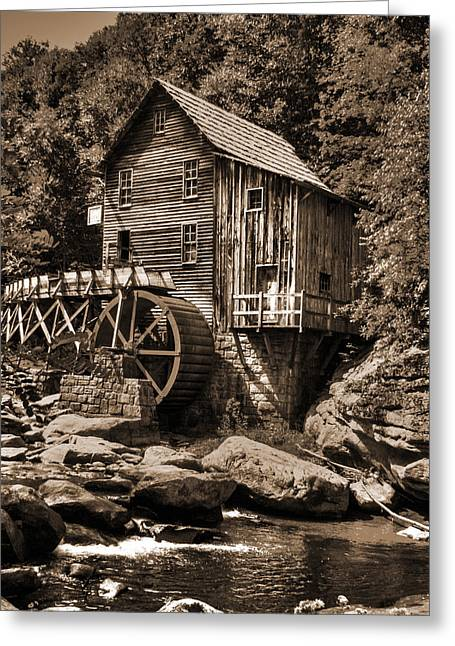 Grist Mill Greeting Cards - Old Virginia mill Greeting Card by Phil Alderton
