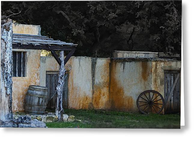 Old West Ghost Town Greeting Card by Kelly Rader