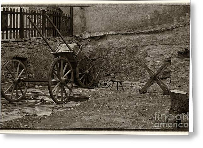 Old West Photography Greeting Cards - Old West Greeting Card by Giovanni Chianese