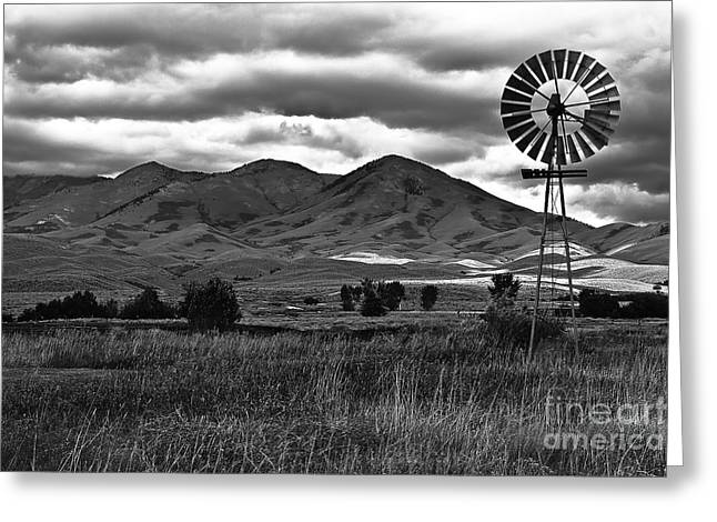 Solider Greeting Cards - Old West Greeting Card by Robert Bales