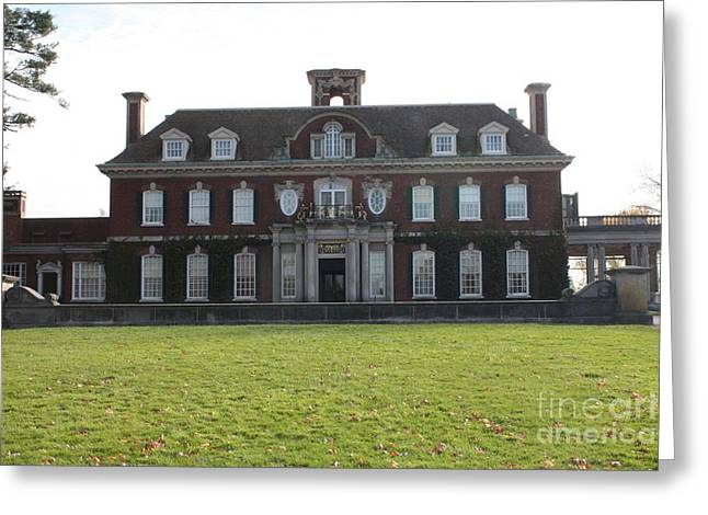 Owner Greeting Cards - Old Westbury Gardens Mansion Greeting Card by John Telfer