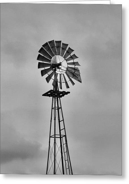 Energize Greeting Cards - Old Windmill Greeting Card by Dan Sproul