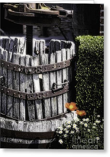 Old Wine Press  Greeting Card by George Oze
