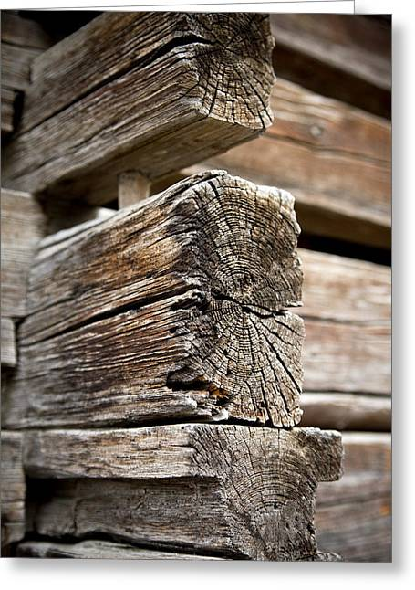 Old Structure Greeting Cards - Old Wood Greeting Card by Frank Tschakert
