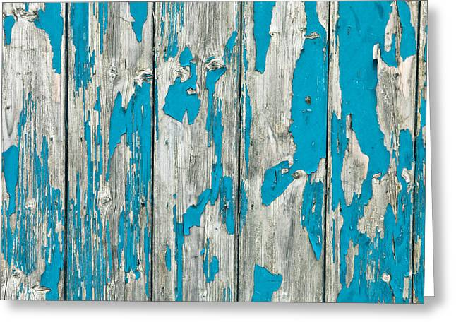 Plank Greeting Cards - Old wood Greeting Card by Tom Gowanlock