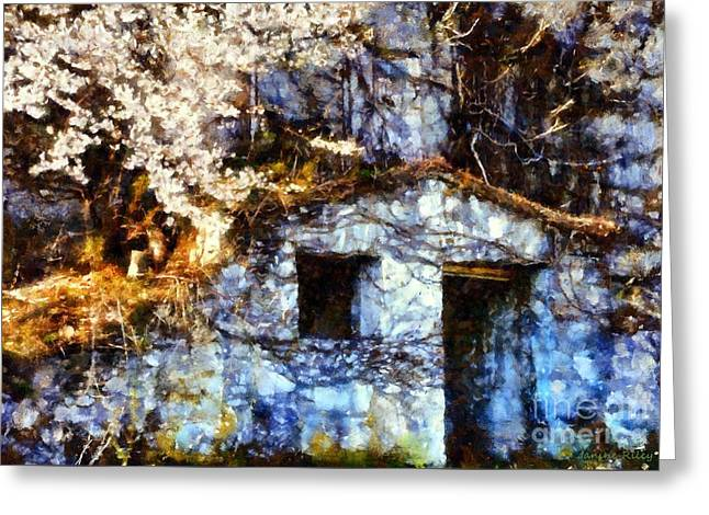 Worn In Greeting Cards - Old world charm Greeting Card by Janine Riley