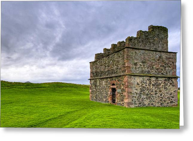 Listed Building Greeting Cards - Old World Dovecot At Tantallon Castle Greeting Card by Mark Tisdale