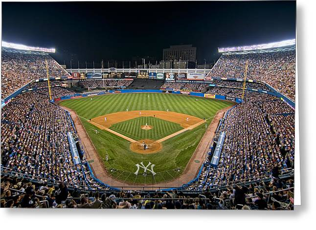Mark Whitt Photography Greeting Cards - Old Yankee Stadium Greeting Card by Mark Whitt