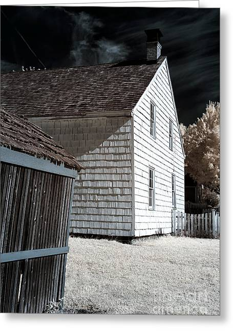 Old School House Greeting Cards - Olde Towne Angles Greeting Card by John Rizzuto