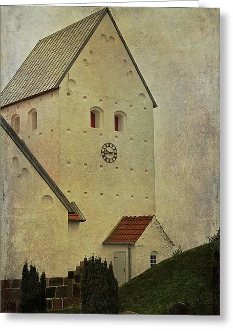 Wayside Greeting Cards - Older Than Sin Greeting Card by Odd Jeppesen