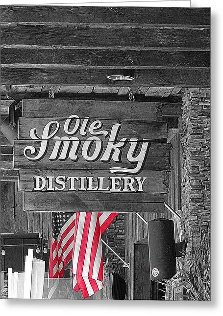 Gatlinburg Tennessee Greeting Cards - Ole Smoky Distillery Greeting Card by Dan Sproul