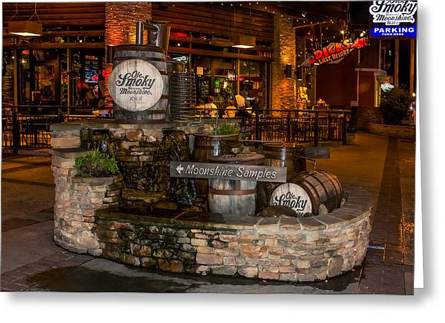 Ole Smoky Tennessee Moonshine Holler Greeting Card by Rob Sellers