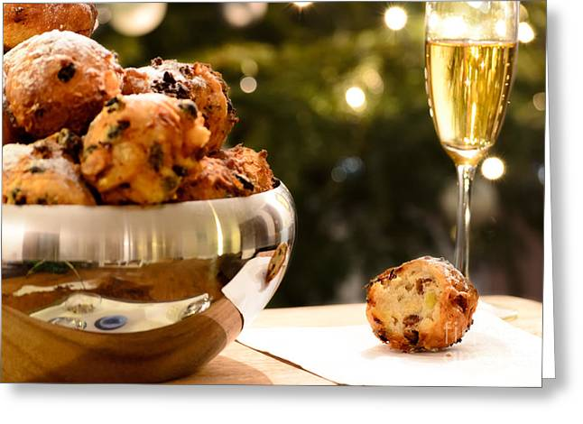 Oliebollen Greeting Card by IPics Photography