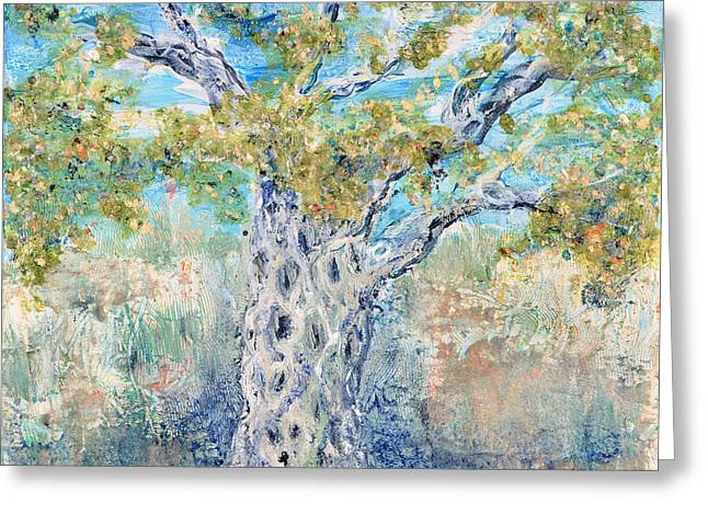 Olive Greeting Card by Regina Valluzzi