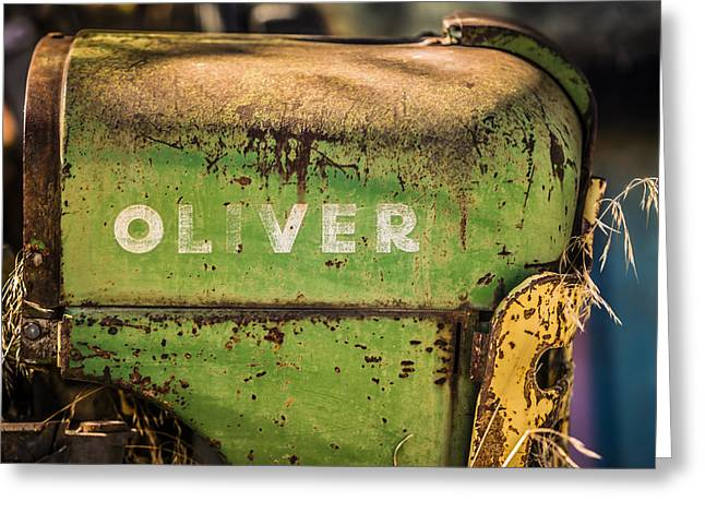 Oliver Greeting Card by Steve Smith