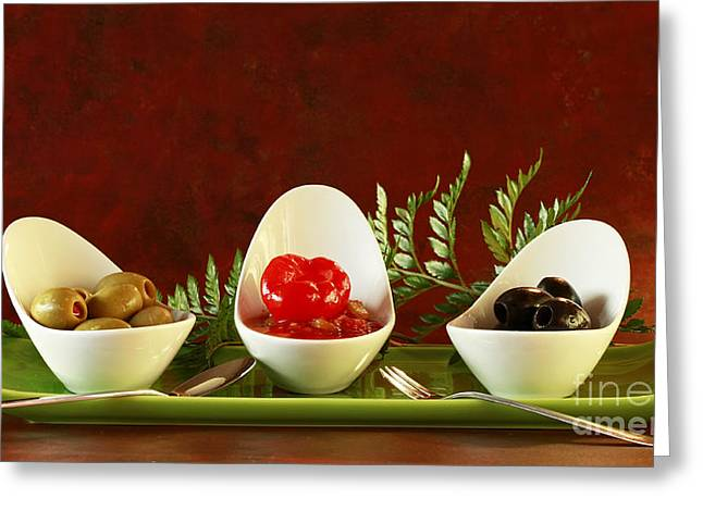 Olives Anyone Greeting Card by Inspired Nature Photography Fine Art Photography