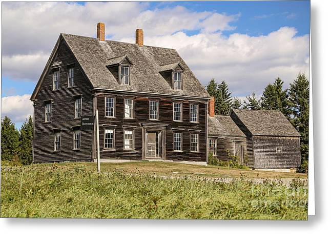 Olson House Greeting Cards - Olson House Greeting Card by Benjamin Williamson