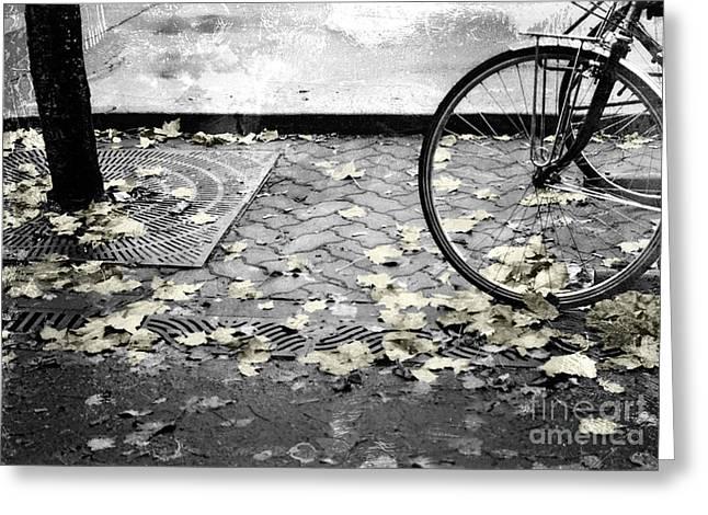 Olympia Washington Greeting Cards - Oly Bike Greeting Card by Jeffrey Woodley