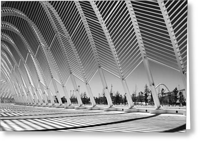 Complex Greeting Cards - Olympic Sports Complex - Athens Greeting Card by Rod McLean
