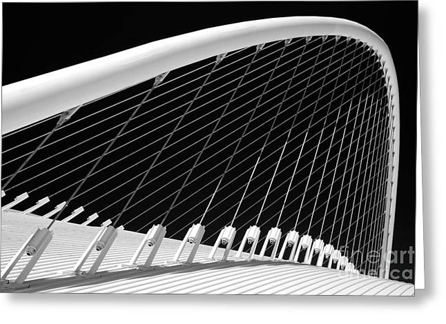 Olympic Sport Greeting Cards - Olympic Velodrome - Athens Greeting Card by Rod McLean
