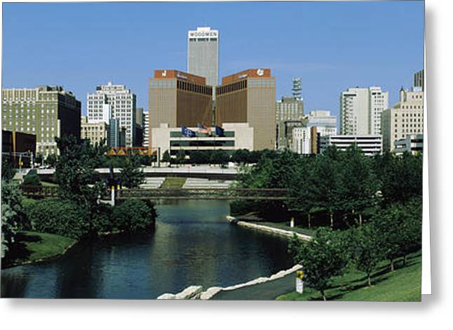 Omaha Ne Usa Greeting Card by Panoramic Images