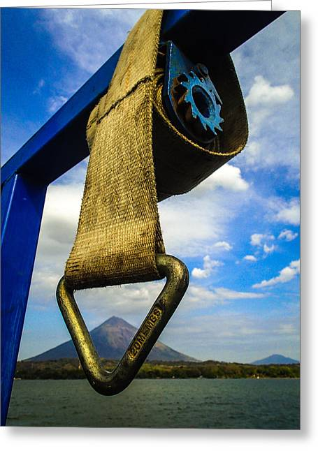 Straps Greeting Cards - Ometepe Introvert Greeting Card by Tyler Lucas