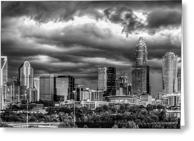 Ominous Greeting Cards - Ominous Charlotte Sky Greeting Card by Chris Austin