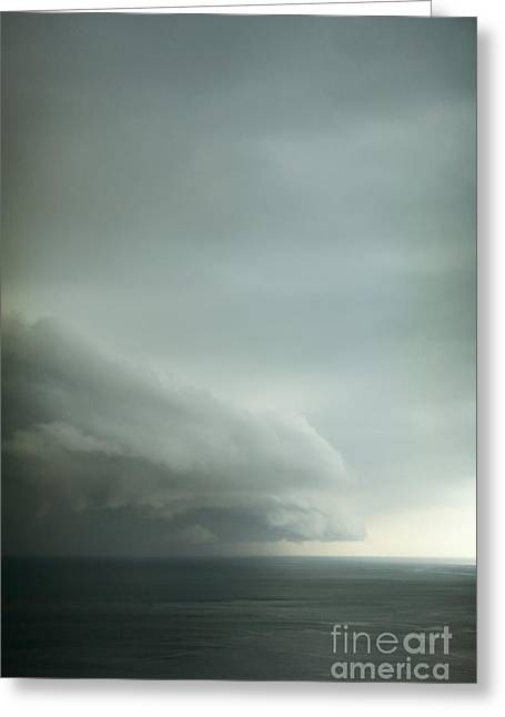 Turbulent Skies Photographs Greeting Cards - Ominous Skies I Greeting Card by Margie Hurwich