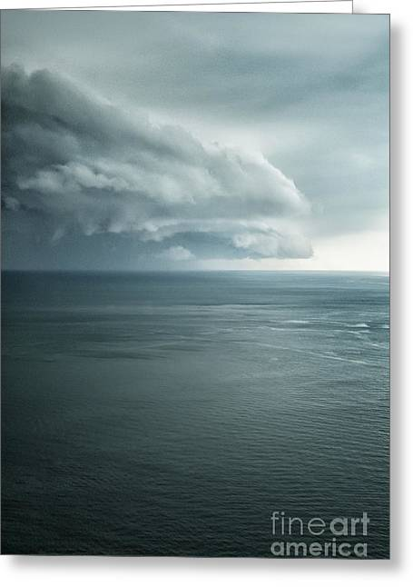 Turbulent Skies Photographs Greeting Cards - Ominous Skies II Greeting Card by Margie Hurwich