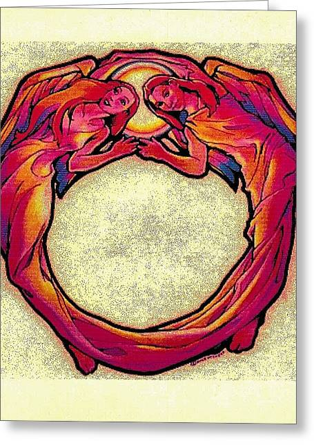 Omnipotent Greeting Cards - Omni Omni Omni Greeting Card by Dale Michels