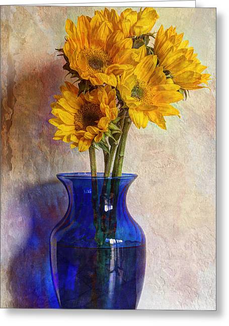 Old Pitcher Greeting Cards - On A Summers Day Greeting Card by Heidi Smith