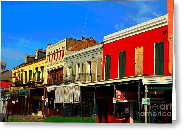 On Decatur Street Greeting Card by Alys Caviness-Gober