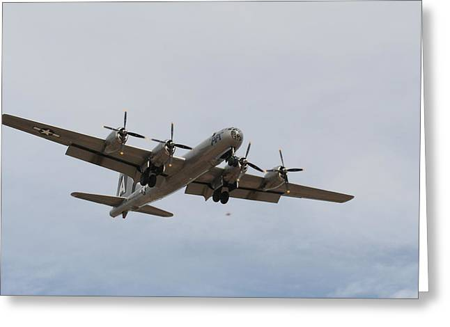 Multi-engine Greeting Cards - On Final Greeting Card by David S Reynolds