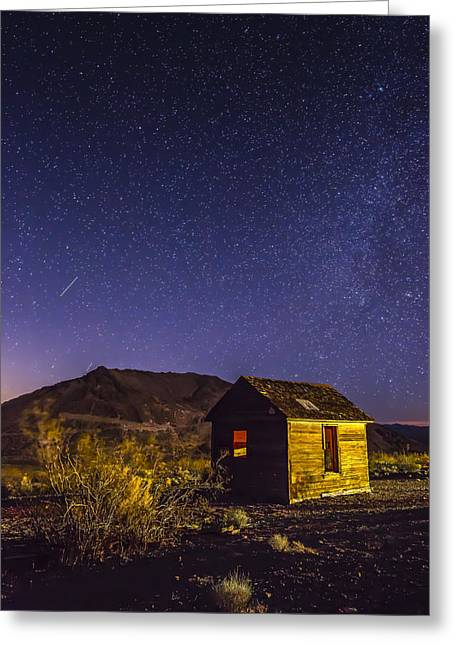 On Old Dream Greeting Card by Jon Glaser