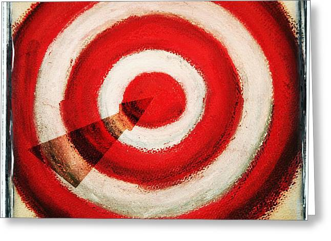 Perfect Game Greeting Cards - On Target Greeting Card by Don Hammond