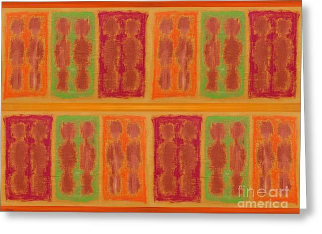 Beach Towel Mixed Media Greeting Cards - On The Beach Greeting Card by Patrick J Murphy