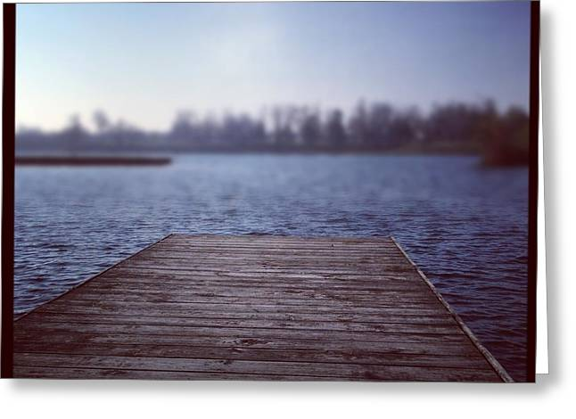On The Docks Greeting Cards - On The Dock Greeting Card by Dan Sproul