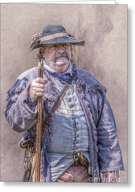 Brigade Greeting Cards - On the Frontier Greeting Card by Randy Steele