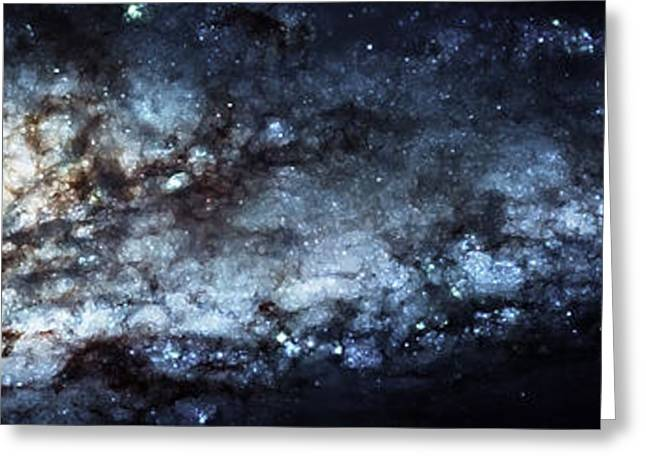 The Cosmos Greeting Cards - On the Galaxy Edge Greeting Card by The  Vault - Jennifer Rondinelli Reilly
